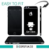 iPhone 6 piel negra/iPhone 6/etiquetas apple dodoskinz/iPhone/mobifox iPhone pegatinas