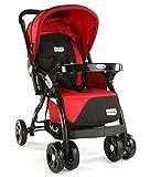 Best Strollers - LuvLap Galaxy Baby Stroller and Pram (Red/Black) Review