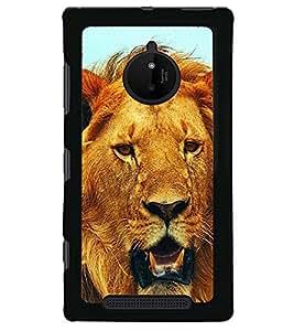 printtech Lion Back Case Cover for Nokia Lumia 830 , Nokia Lumia 830 RM-984