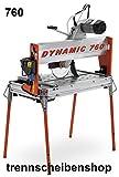 Dynamic760_Steinsäge, Brückensäge mit Riemenantrieb, für Diamanttrennscheiben Ø 250 + 300 mm, Fliesen und Steintrennmaschine, Fliesen,Kacheln,Steinplatten,Platten, Blocksäge