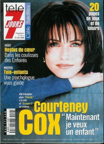 Tl 7 jours - n2076 - 11/03/2000 - Courteney Cox / Friends, Scream 3