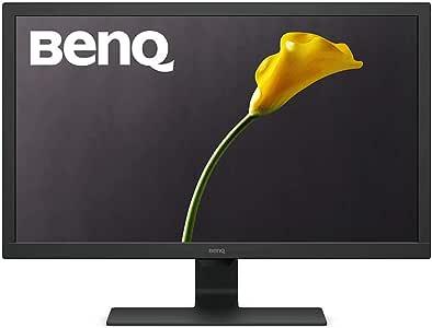 BenQ GL2760H Moniteur de 68,6 cm (27 pouces) (HD, Eye-Care, HDMI, VGA, Temps de Réponse 2 ms) Noir, [Classe énergétique B]