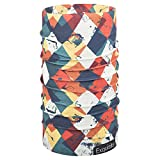 #10: Noise NOIHWPEX098 Polyester Monochrome Exquisite Bandana, Adult (Multicolor)