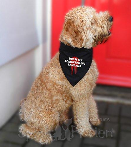 esigner-Hunde-Bandana perfekt für Halloween oder als Kostüm für Hunde–Vier Größen einstellbar, ideal für Hunde von einem Chihuahua bis zu einem Bernhardiner (Einfach Game Of Thrones Halloween Kostüme)