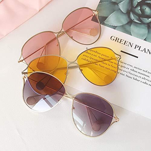 BHLTG Sonnenbrille-weiblicher UVschutz-Myopie-Sonnenbrille-Hippie-Art- und Weisepersönlichkeit eingelegte Myopie Sunglasses-6
