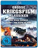 Große Kriegsfilm-Klassiker  - Von Ryans Express, D-Day - The Sixth of June, Kampfflieger [Blu-ray]
