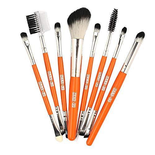 Pitashe Make up Pinsel set 10 Stück Kosmetikpinsel Beauty Pinsel Set für Borsten Professionelle...