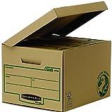 Bankers Box 4470809 Scatola Standard con Coperchio Ribaltabile Earth Series, FSC, Confezione da 10 Pezzi