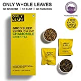 #2: Onlyleaf Chamomile Green Tea, 25 Tea Bags with 2 Free Exotic Samples