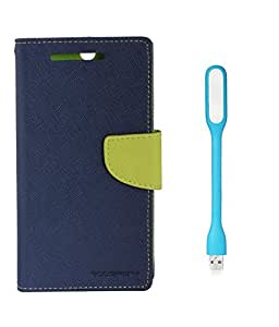 Nokia 530 Cover With Led Light By Mobile Life - (Blue/Green + Colors May Vary in LED Light)