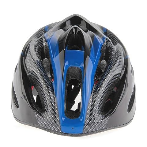 Casque Moto Retro Bleu - ZIMO Casque de Racing VTT Casque de