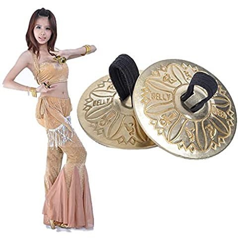 Ruban Costume De Danse - Wgwioo Cymbales En Doigt En Dents Du