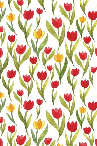 dot-journal-red-and-yellow-daffodils-6x9-journal-with-dotted-pages