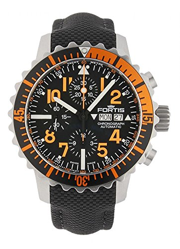 Fortis aquatis Marine Master Cronografo Orange 671.19.49 LP
