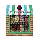 Little Sweet Shop Geschenkset mit 8 Retro Süßen Gläsern
