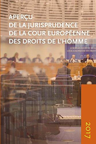Apercu de la Jurisprudence de la Cour Europeenne Des Droits de l'Homme 2017 (Aperçu de la jurisprudence de la Cour)