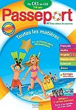 Passeport De CE1 au CE2 - Cahier de vacances de Catherine Bessières