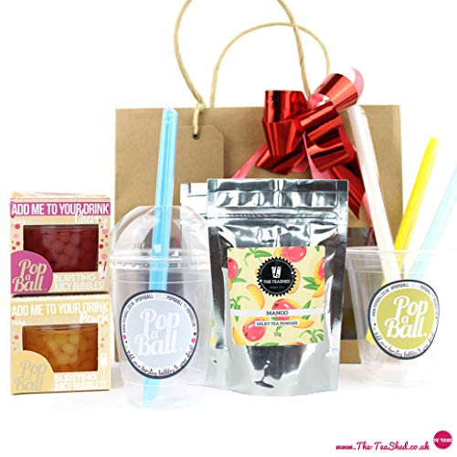 Bubble Tea Kit Gift Set with 6 Servings