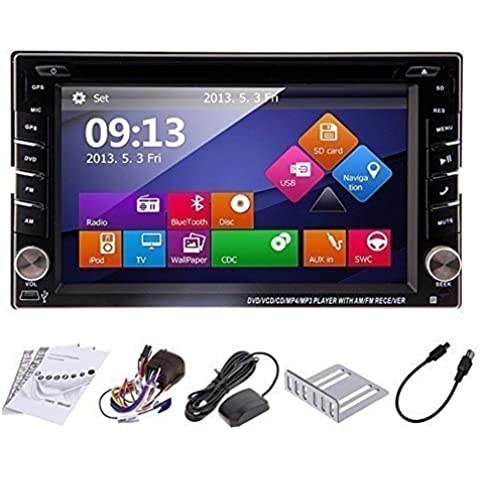 Reproductor DVD para Coche con Windows8, GPS, Bluetooth, Entrada iPod, Pantalla Táctil, TV