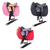 Shettysattel-Set COLOURFUL Marengos heart/black 12