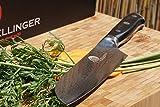 """SXL-P7 Dellinger Samurai-Professional Santoku 7""""/ Coltello da cucina Professionale & 67 Strati Giapponesi vg-10 Acciaio Di Damasco & Manico di G10, Lama 170mm"""