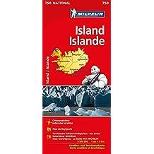 Michelin Island: Straßen- und Tourismuskarte 1:500.000 (MICHELIN Nationalkarten)