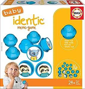 Educa Borrás- Baby Identic Memo Game Puzzle, Color Variado (18124)