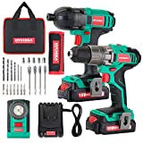 Electric Drill 18V 35Nm and Impact Driver 160Nm,