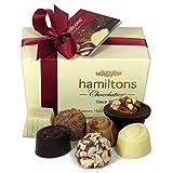 Hamiltons Ivory Luxury Belgian Ballotin 12 Handmade...