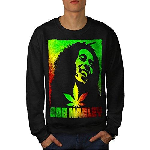 bob-marley-cannabis-fumee-cannabis-homme-nouveau-noir-m-sweat-shirt-wellcoda