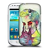 Head Case Designs Fluß Blinde Form Ruckseite Hülle für Samsung Galaxy S3 III Mini