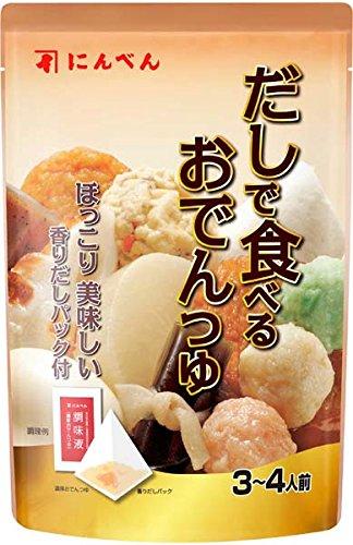 にんべん だしで食べるおでんつゆ (50ml+3g)×5個