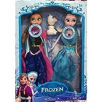 Frozen Anna Elsa Olaf Set Bebek Müzikli