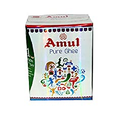 Amul Cow Ghee is made from fresh cream and it has typical rich aroma and granular texture.Amul Cow Ghee is an ethnic product made by dairies with decades of experience, and rich source of Vitamin A,D,E and K.