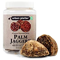 Urban Platter Whole Palm Jaggery, 500g / 17.6oz [Premium Quality, Full of Flavour & Nutrition]