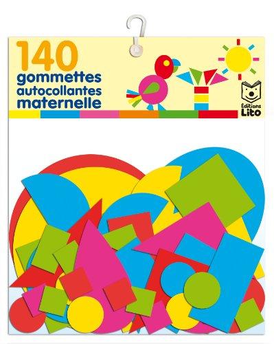 140 gommettes autocollantes maternelles - Dès 3 ans