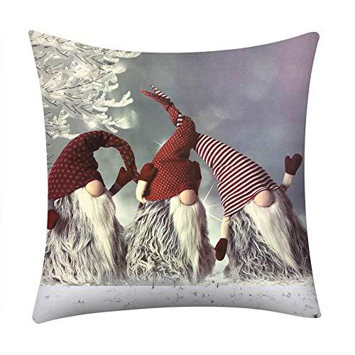 federa per cuscino federa natalizia, lino in cotone decorazione per il nuovo anno, federa per divano di alta qualità copriletto decorativo per cuscino senza cuscino