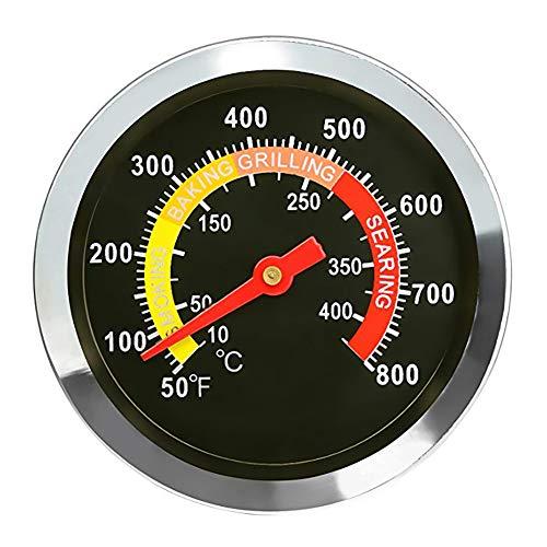 Queta BBQ Temperaturmessgerät Grill Pit Thermometer Fahrenheit für Grill Fleisch Kochen Rindfleisch Schwein JX-8K-1