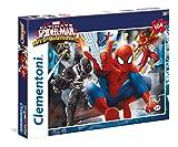 Clementoni 27958 - Puzzle Spiderman, Web Warriors, 104 Pezzi, Multicolore