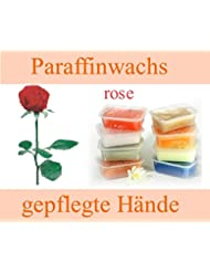 Paraffinblock 400g mit Duft -01 Rose