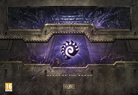 NEW & SEALED! Starcraft 2 Heart Of The Swarm Collector's