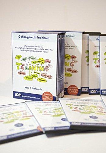 Gehirn-gerecht Trainieren, Personal Edition: Management-Seminar für Führungskräfte, Personalverantwortliche, Verkäufer, Handlungsbevollmächtigte und Trainer [8 DVDs]