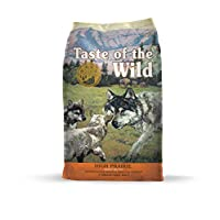 Taste of The Wild Grain Free Premium High Protein Dry Dog Food High prairie Puppy Recipe with Roasted Bison & Roasted Venison 2.27kg