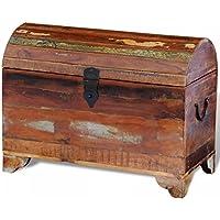 Lingjiushopping Schatulle Kiste aus Holz Antik massiv Gesamtmaße: 60x 30x 45cm (L x T x H) Truhen und Truhen preisvergleich bei billige-tabletten.eu