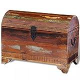 FZYHFA Premiumqualität Speicher-aus robustem Holz Recycelt 60x 30x 45cm (L x B x H) Aufbewahrungsbox