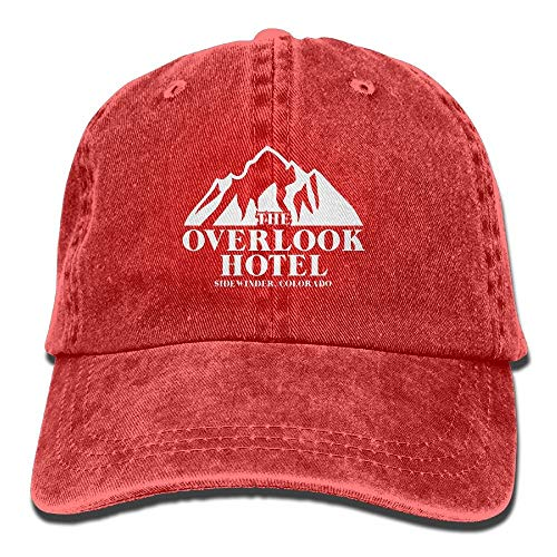 DD Decorative Overlook Hotel Shirt Washed Retro Adjustable Cowboy Cap Trucker Hats for Woman and Man