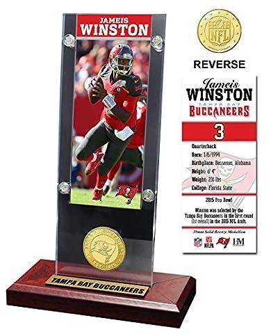 NFL Tampa Bay Buccaneers Jamie's Winston Acrylic Ticket & Bronze