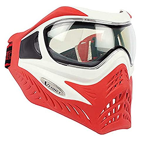 Vforce Grill Special Colour Edition Goggles - White on Red