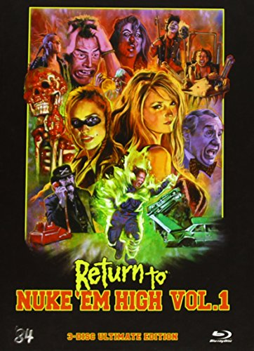 Return to Nuke'Em High Vol. 1 - Mediabook [Blu-ray]