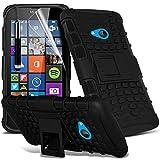 ONX3® (Black) Microsoft Lumia 640 Dual Sim Hülle